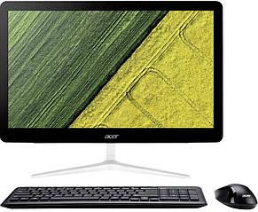 ПК-моноблок Acer Aspire Z24-880 23.8FHD/intel i5-7400T/8/1000/ODD/NVD940-2/Lin/Silver, фото 3