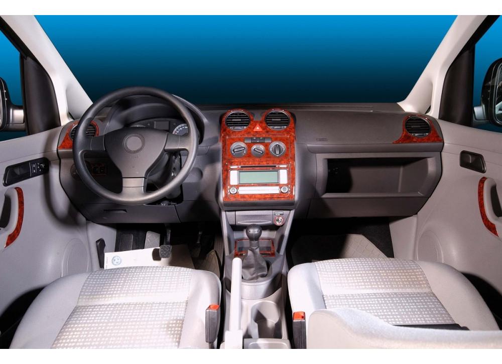 Накладки на панель - Volkswagen Caddy 2010-2015 гг.