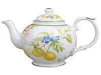 Чайник заварочный фарфоровый Лимон 1 л 924-406