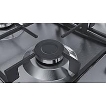 Встраиваемая газовая поверхность Bosch PGH6B5B60 - Ш-60см./3 конфорки+ WOK/нерж. сталь, фото 2