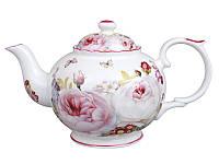 Чайник заварочный фарфоровый Пион 1 л 924-407, фото 1