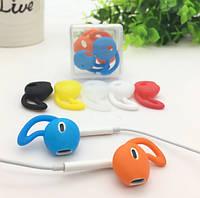 Силиконовые накладки с крючком для наушников-вкладышей. Аксессуары для Apple Airpods .