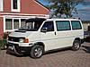 Дашок прозорий (чорний на кронштейнах) - Volkswagen T4 Caravelle/Multivan, фото 2