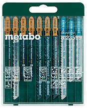 Набор пилок Metabo лобзиковых 10шт.