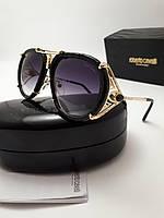 Женские солнцезащитные очки Roberto Cavalli RC1046 цвет черный