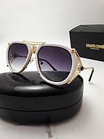 Женские солнцезащитные очки Roberto Cavalli RC1046 цвет белый