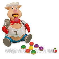 Настольная игра Накорми поросёнка Пигги Поп Pop the Pig Goliath Games
