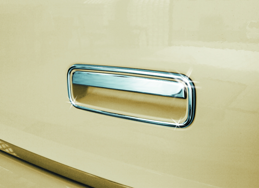 Накладка на ручку багажника (нерж) - Volkswagen T5 рестайлінг 2010-2015 рр.