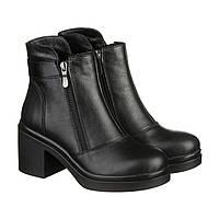 Ботинки женские зимние Villomi vm-524-05kz Черные