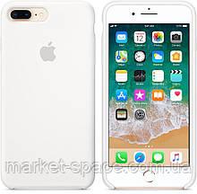"""Чехол силиконовый для iPhone 7 Plus/8 Plus. Apple Silicone Case, цвет """"Белый"""", фото 3"""