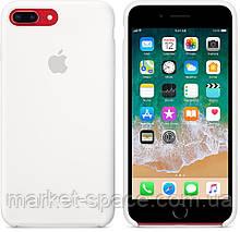 """Чехол силиконовый для iPhone 7 Plus/8 Plus. Apple Silicone Case, цвет """"Белый"""", фото 2"""