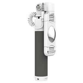 Монопод ROCK Mini Selfie Stick с зеркалом Black IGMRMSS3, КОД: 165280