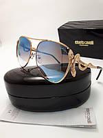 Женские солнцезащитные очки Roberto Cavalli RC909 цвет голубой