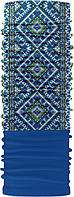 Зимовий бафф Бандана-трансформер з орнаментом Синій ZBT-042-2, КОД: 131853