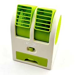 Вентилятор-кондиционер Plymex HB-168 Mini Зеленый 5854, КОД: 107100