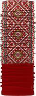 Зимовий бафф Бандана-трансформер З орнаментом Червоний ZBT-015-3, КОД: 131949