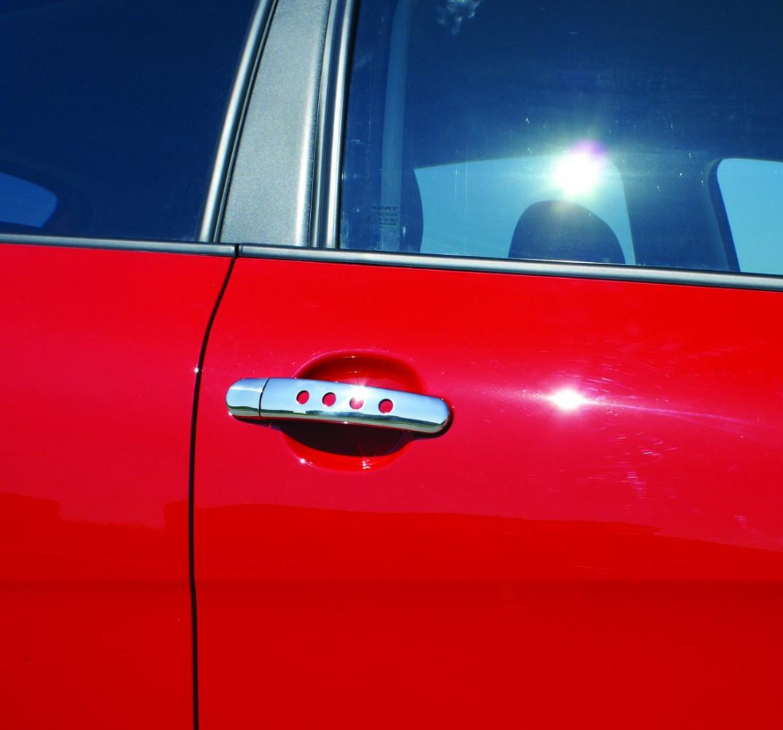 Накладки на ручки Декор (4 шт, нерж) - Volkswagen Golf 5