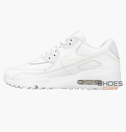 a232fa1b Женские кроссовки Nike Air Max 90 LTR (GS) White 833412-100, оригинал