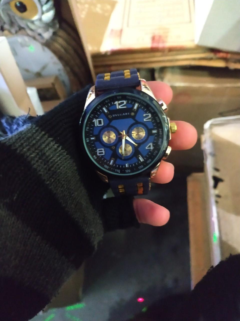 Чоловічі наручні годинники BvLgari