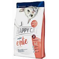 Happy Cat Sensitive - сухой корм для взрослых кошек с чувствительным пищеварением с уткой