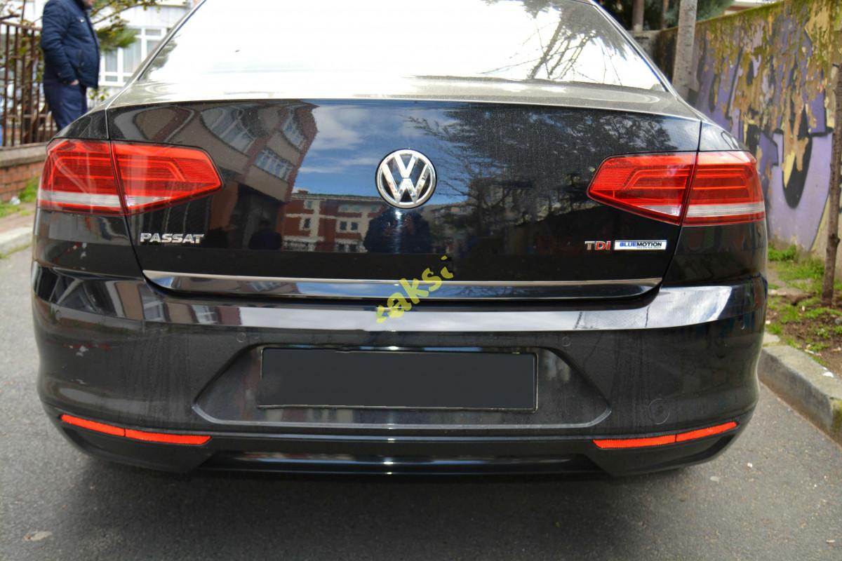 Кромка багажника (нерж) - Volkswagen Passat B8 2015+ гг.