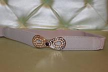 Ремень  для женщин резинка бантик, фото 3