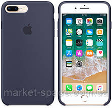 "Чехол силиконовый для iPhone 7 Plus/8 Plus. Apple Silicone Case, цвет ""Тёмно-синий"", фото 3"