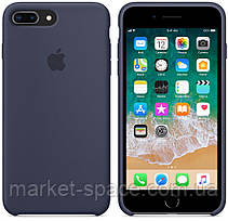 "Чехол силиконовый для iPhone 7 Plus/8 Plus. Apple Silicone Case, цвет ""Тёмно-синий"", фото 2"
