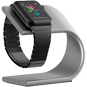 Док-станция для Apple Watch Aluminium series Silver IGWDSASS3, КОД: 146705