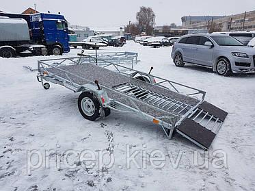 Прицеп для снегохода. Доставка зимних вездеходов на загородные снега!