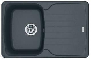 Кухонні мийки  Franke Antea AZG 611-78/114.0499.168/ прямоуг. з крилом/фраграніт/780x500х210/графіт