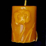 """Восковая свеча """"Тюльпан"""" из натурального пчелиного воска, фото 4"""