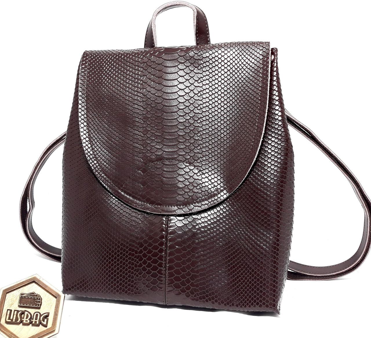 83291ee389ca Женская сумка-портфель 3D из натуральной кожи Коричневого цвета, модельный  ряд 2019