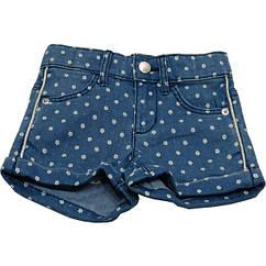Шорты United Colors Of Benetton джинсовые с цветочным принтом 90 см Синий 4SG7591O, КОД: 265190