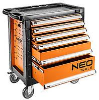 Тележка для инструмента NEO, 6 ящиков, 770x460x870 мм, грузоподъемность 200 кг