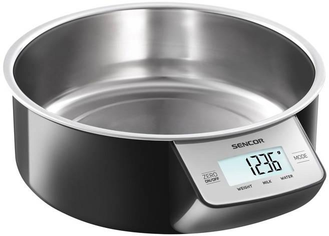 Весы кухонные  Sencor SKS4030BK, фото 2