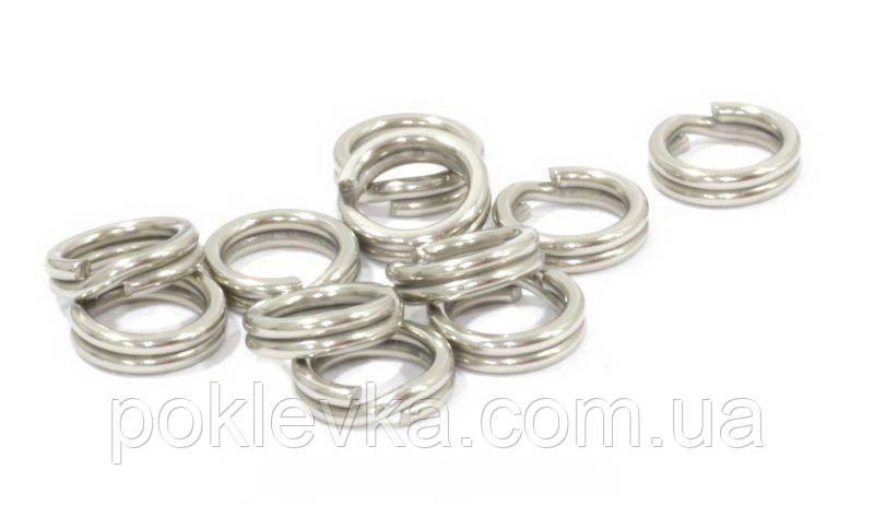 Заводное кольцо Wizard GRIZZLY NICKEL №4 8мм 45kg