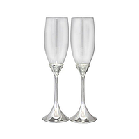Набор фужера Wedding Grace для шампанского 220мл 2 шт ST-7047-17psg, КОД: 171415