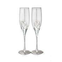 Набор фужеров Wedding Two Hearts для шампанского 220 мл 2 шт ST-7047-11psg, КОД: 171422