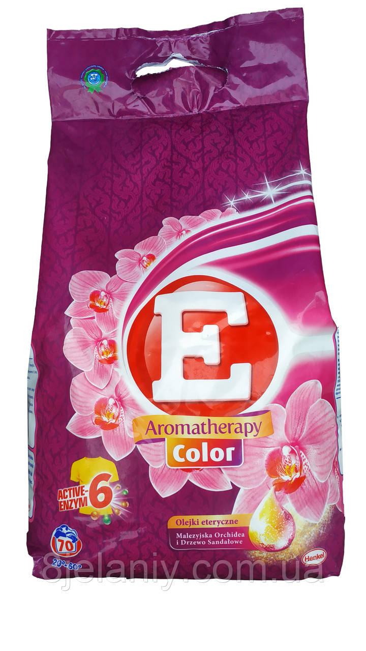 Стиральный порошок E Aromatherapy 6 color 4,9 кг 70 стирок