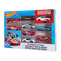 Хот вилс набор металлических машинок 9 шт Hot Wheels 9-Car Gift Pack Mattel