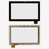 """Сенсорний екран для планшету Tablet PC 7"""", Wexler TAB 7i, 7"""", 114x178 mm 40 pin, чорний"""