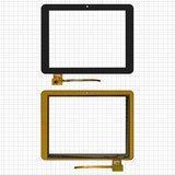 """Сенсорний екран для планшету Tablet PC 8""""; Assistant AP-803, 150 мм, 198 мм, 10 pin, чорний"""