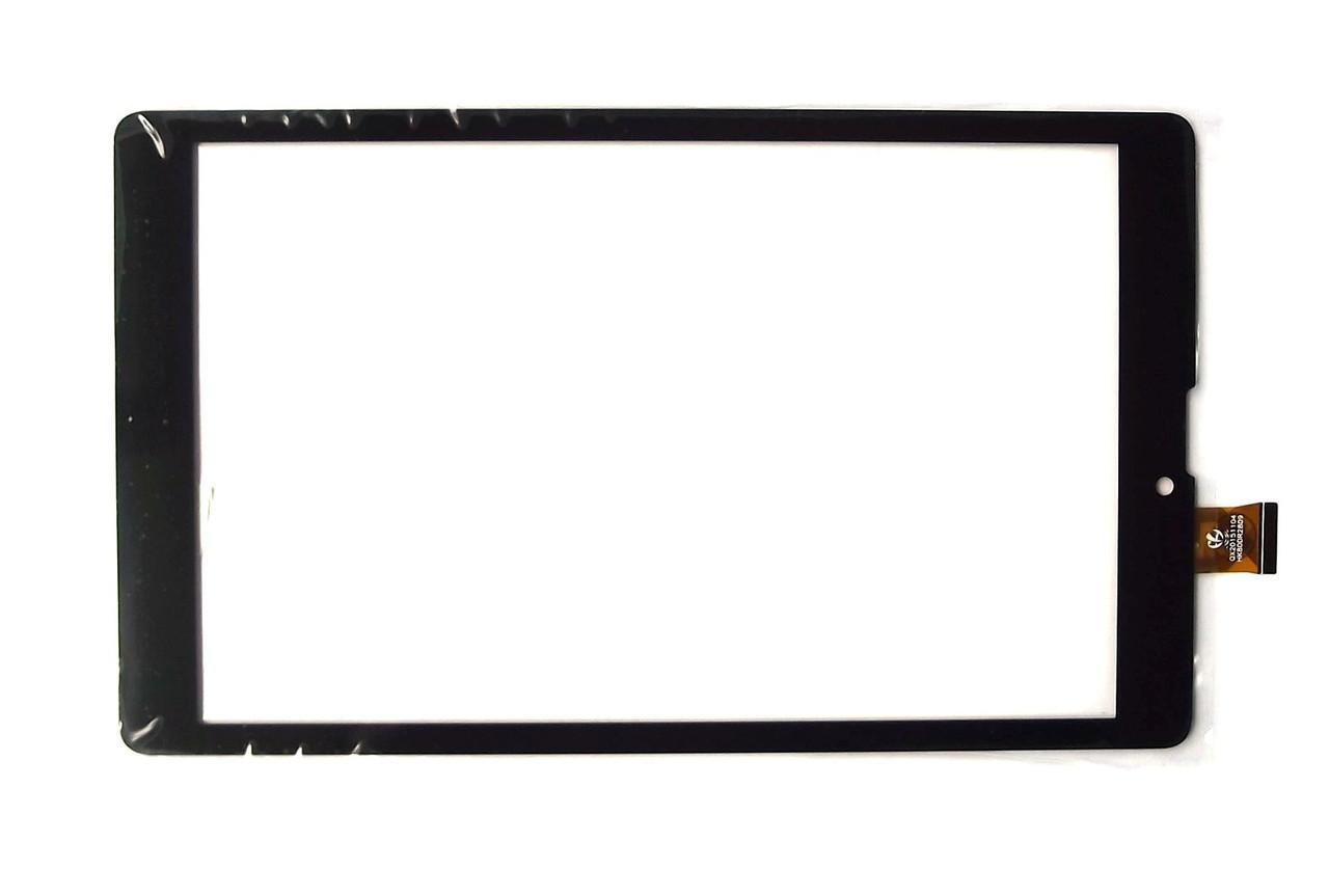 """Сенсорний екран для планшету Tablet PC 8"""";  Nomi C08000 Libra 8"""" 3G, 203 мм, 120 мм, 45 pin, чорний"""