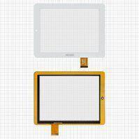 """Сенсорний екран для планшету Tablet PC 8""""; Pixus Play Four, 8"""", 197 мм, 150 мм, 40 pin, білий"""