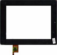 "Сенсорний екран для планшету Tablet PC 8""; Prestigio MultiPad 2 Ultra Duo 8.0 3G, 200 мм, 153 мм, 9 pin, чорний, #PB80DR8357, 080088-01A-V2"