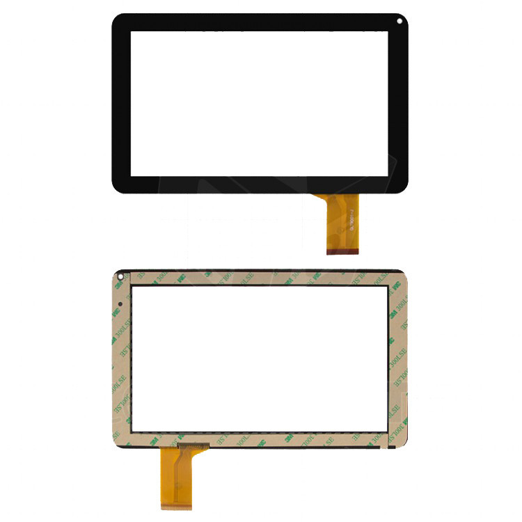 """Сенсорний екран для планшету Tablet PC 9"""",  Allwinner A13 Q9; Impression ImPAD 9213; 233 мм, 141 мм, 50 pin, чорний"""