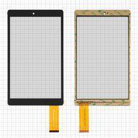 """Сенсорний екран для планшету  Tablet PC 9"""",  Bravis WXi89, 9"""", 226 мм, 133 мм, 45 pin, чорний, #DXP2-0356-090A V2.0"""