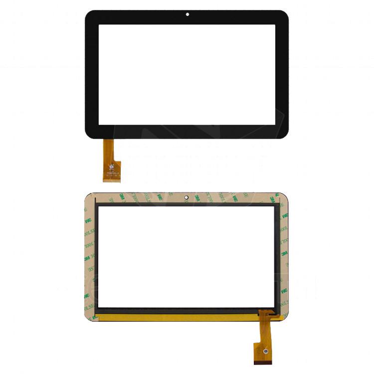"""Сенсорний екран для планшету Tablet PC 9"""", Sanei N91, 9"""", 145 мм, 230 мм, 40 pin, чорний, #TPC0859 VER1.0"""