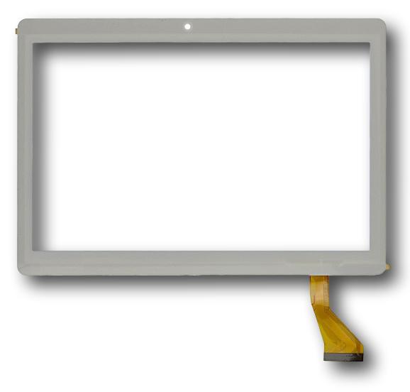 """Сенсорний екран для планшету  Tablet PC 9.6"""", Nomi C09600 Stella 9,6"""" 3G, 222 мм, 156 мм, 50 pin, білий"""